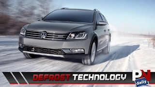 VW Has New Technology That Will Defrost Your Windows Pretty Quick