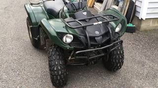 3. Yamaha grizzly 125 oil change