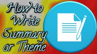 """Fb: http://www.facebook.com/group/studyclinicBlog: http://onlinestudyinbd.blogspot.comSummary or Theme Writing:Summary or Theme is the basic idea about a story, passage or poem. The students think that it is the most tough task for them. Most of the time they memorize it.The reason behind it, they do not understand the meaning of the passage, story or poem. But i think if you know the basic grammatical rule you can solve the problem by following my discussed rules.Thank you.-~-~~-~~~-~~-~-Please watch: """"ভাই-বোনকে ভার্সিটিতে চান্স পাওয়ানোতে আপনার করণীয়  How to Guide Youngers for Public University"""" https://www.youtube.com/watch?v=tOBLRnYN8KQ-~-~~-~~~-~~-~-"""