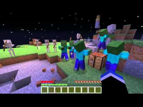 Minecraft - Floating Island Survival #01 - Gremu & MacieGTMPI