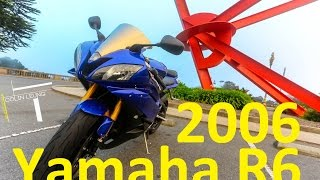 8. 2006 Yamaha r6 - start up, mods, oil change, coolant flush, fork seal, k&n air filter