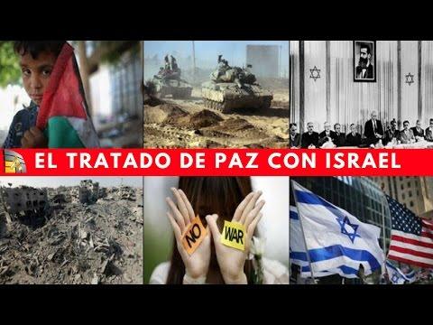 El proceso de paz entre Israel y los palestinos (Tratado de Paz con Israel )