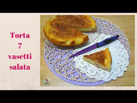 video ricetta: torta sette vasetti salata.