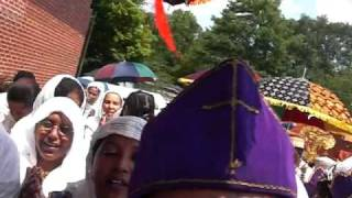 Ethiopian Orthodox Church Debre Haile Kidus Gebriel 2009 Part 4