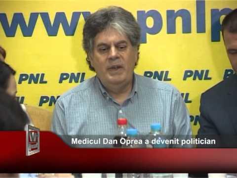 Medicul Dan Oprea a devenit politician