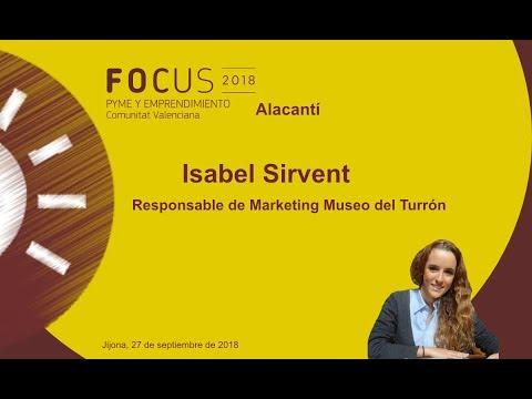 Isabel Sirvent, Responsable de Mk del Museo del Turrón en Focus Pyme Alacantí[;;;][;;;]
