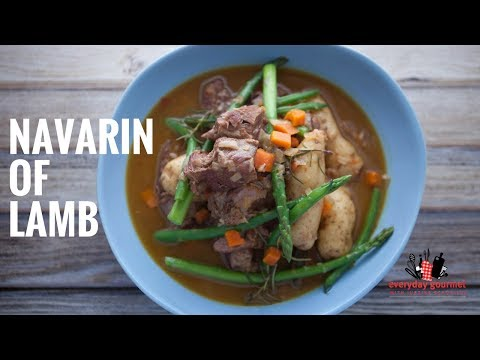 Tefal Navarin of Lamb|Everyday Gourmet S6 E25