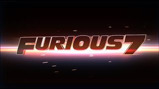 Nonton Furious 7 logo - After effects template Film Subtitle Indonesia Streaming Movie Download