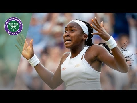 Coco Gauff | Top 10 points of Wimbledon 2019