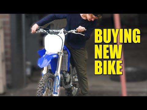 New Bike YZ125 and Damaged Radiator
