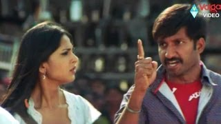 Gopichand  action fight.. Anushka Love