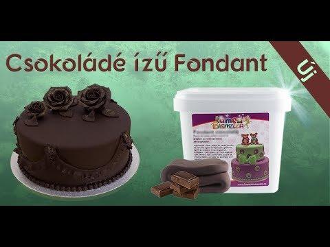 Lumea Csokoládé ízű Fondant, 1 kg