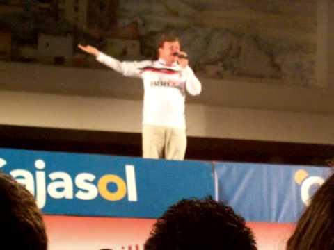 Manolo Jiménez en el ascenso del Sevilla Atlético