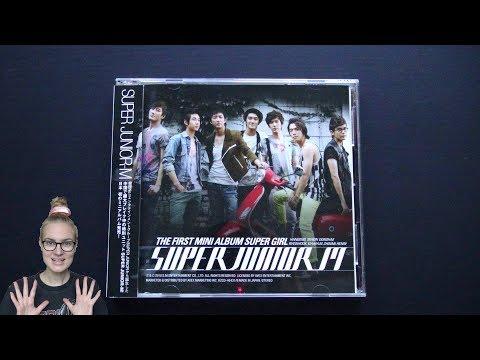 Unboxing Super Junior-M 1st Mini Album Super Girl (Japan CD+DVD Edition)