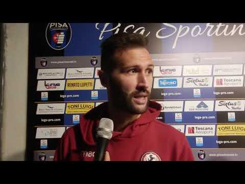 Pisa-Arezzo 2-3, intervista a Michele Rinaldi