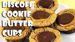 Biscoff Cookie Butter Cookie Cups|| Gretchen's Bakery by Gretchen's Bakery