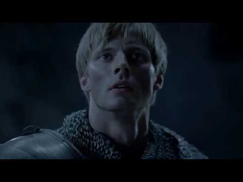 Merlin Season 5 Episode 13 | Emrys strikes Saxons , Morgana and dragon