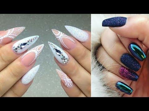 Nail designs - Nail Art Compilation 2018 - Trendy Nail Art Designs For Short Nails to Make You Shine