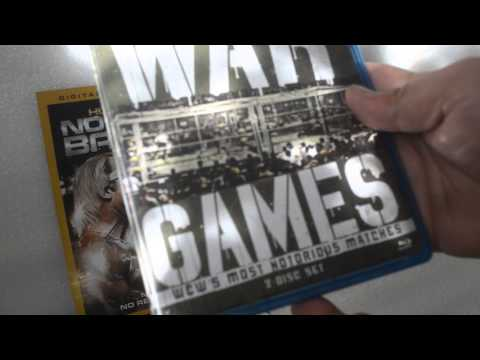 Wwe WCW War Games Blu-ray And DVD Unboxing