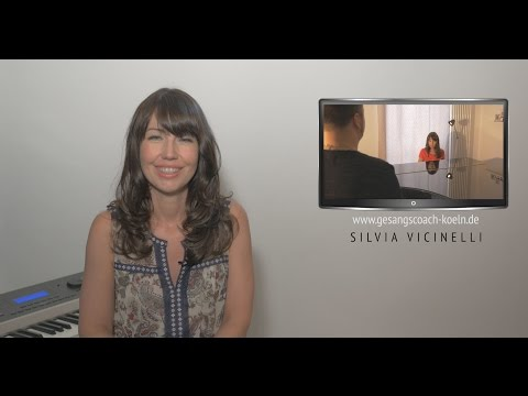 Vocal Coach Köln - Silvia Vicinelli (Teaser)