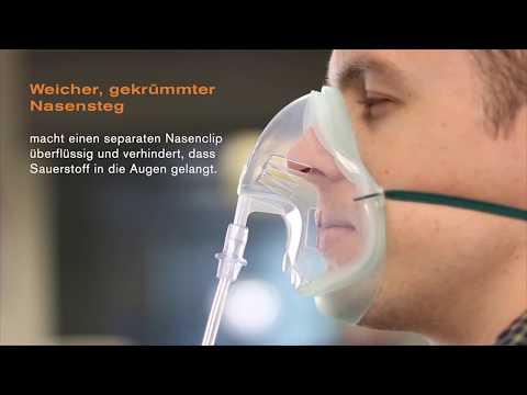 Intersurgical EcoLite™ Sauerstoff-Maske Erwachsene