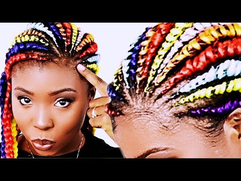 How To: GHANA BRAIDS Step By Step FOR BEGINNERS!