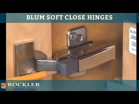 BLUM - Soft & Self Close Hinge Options