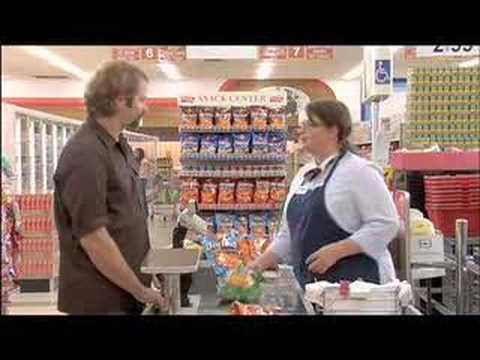 2007 Super Bowl Commercial Doritos Checkout Girl