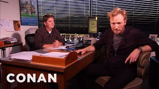 Video Conan Meets His Censor  - CONAN on TBS MP3, 3GP, MP4, WEBM, AVI, FLV Juli 2018