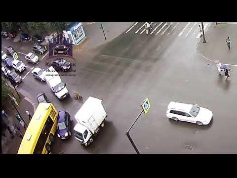 Мира - Горького 22.08.2018 ЧП Красноярск