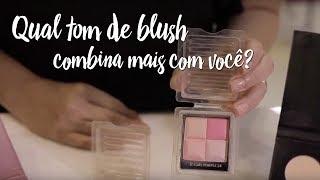 Dica: qual tom de blush combina mais com você?