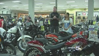 Harley Davidson Bikers Ride for Healthy Hearts
