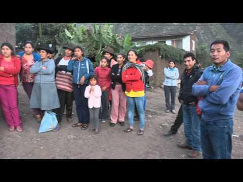 ENTREGA DE APOYO EN ICHUBAMBILLA EN EL MARCO DE LAS CELEBRACIONES POR EL DÍA DEL TRABAJADOR