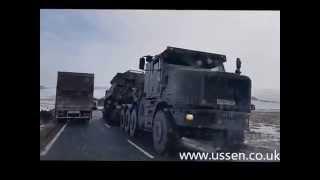 Otterburn United Kingdom  city photos : Tanks arriving at Otterburn barracks uk