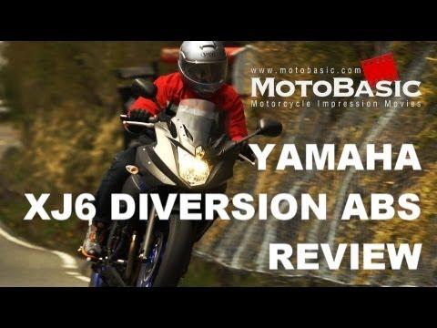 ABS バイク試乗レビュー YAMAHA XJ6 DIVERSION ABS (2013) REVIEW