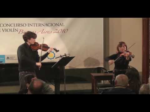 Clases magistrales en el Concurso Internacional de Violín Buenos Aires 2010