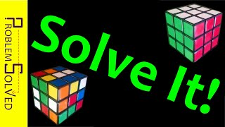 How to Solve the 3x3x3 Rubik's Cube (Easy and Fast!)