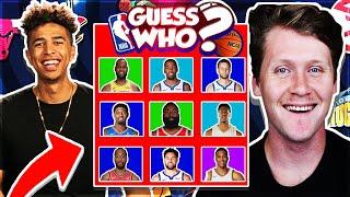 NBA Guess Who Game vs. Jiedel *PRIZE WHEEL*