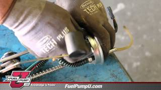 9. How to Install Fuel Pump Module Assembly E11022 in a 2008 Polaris Ranger