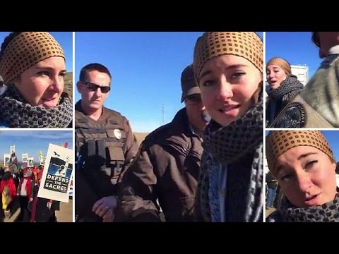 ΗΠΑ: Συνελήφθη κατά τη διάρκεια διαμαρτυρίας η ηθοποιός Σέιλιν Γούντλεϊ