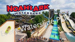 Wisconsin Dells (WI) United States  city photos : Noah's Ark Waterpark Every Slide (HD POV) Wisconsin Dells, WI
