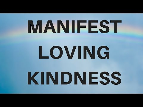 (Music) MANIFEST LOVING KINDNESS A guided meditation for sleep