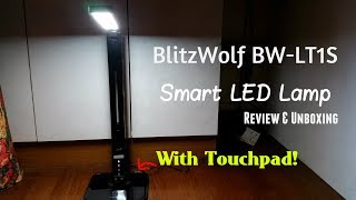 Ever wondered what is a SMART LED LAMP? Well, today we're going to show you one, affordable yet efficient and high end one, The BlitzWolf BW-LT1(S) Smart LED Lamp it has a touchpad for you to adjust your brightness and modes to the one that you're most comfortable with! It's also very rotatable for you to twist and turn the lamp to whatever angle you would like!You can order it at Banggood.com in the link below!Link: https://goo.gl/JM7fWkApply the coupon code: LC10 and you will get 15% OFF when you checkout!© SAMUEL LEWIS