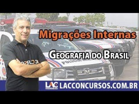 PM MA - Geografia do Brasil - Migrações Internas