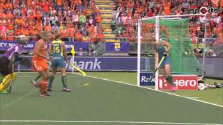Australia vs Netherlands Womens Hockey World Cup 2014