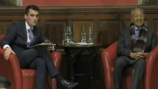 Video Dialogue session with Dr M at Oxford Union MP3, 3GP, MP4, WEBM, AVI, FLV Juni 2019