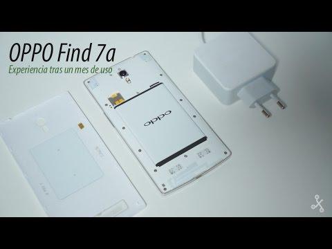 Oppo Find 7a tras un mes de uso, un smartphone perfecto para usuarios noveles y avanzados