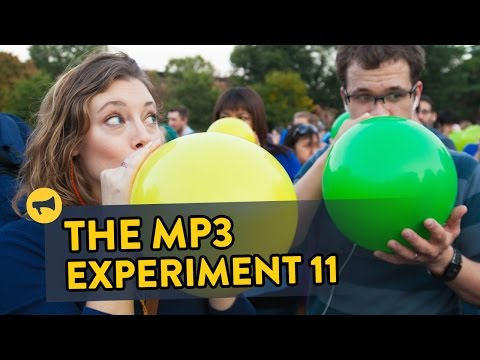 MP3 - Thousands of people listening to secret instructions via headphones! Full Story: http://improveverywhere.com/2014/09/30/the-mp3-experiment-eleven/ Join Us: http://improveverywhere.com/email-lists/...