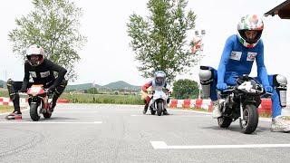 Rossi VS Marquez e Lorenzo - Moto GP