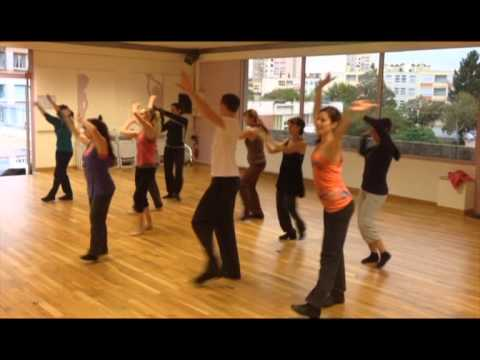Vidéo de danse à Mâcon : flash mob salon charnay